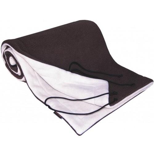 Emitex deka 70x100 cm fleece, hnědá/béžová