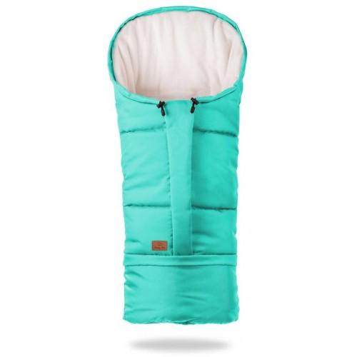 HappyBee zimní fusak  Mumi 3v1 fleece tyrkys