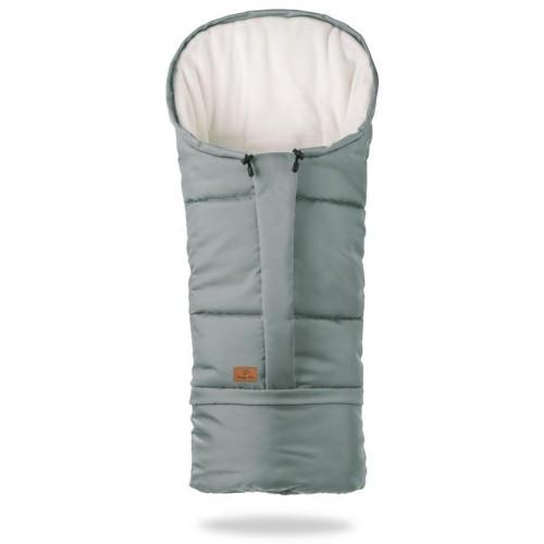 HappyBee zimní fusak  Mumi 3v1 fleece šedá