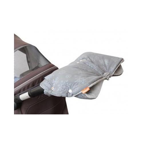 Emitex rukávník DUO 2v1 VLOČKA, šedý
