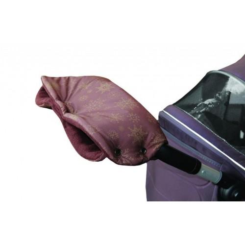 Emitex rukávník VLOČKA, hnědý