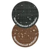 Emitex nánožník 2v1 softshell/microfleece, hnědý