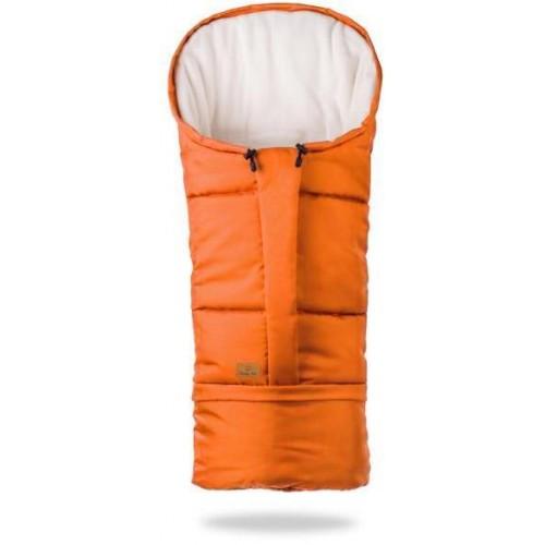 HappyBee zimní fusak  Mumi 3v1 fleece pomerančová
