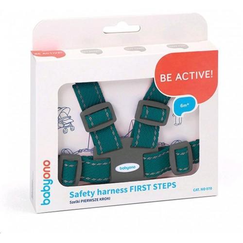 Náhradní bezpečnostní pásy do kočárku Baby Ono tyrkysové